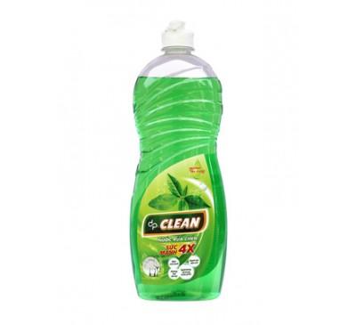 Nước rửa chén dpClean 750ml - hương Trà Xanh