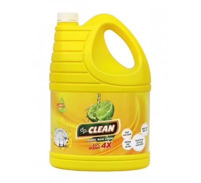 Nước rửa chén dpClean 3,8L - hương Chanh