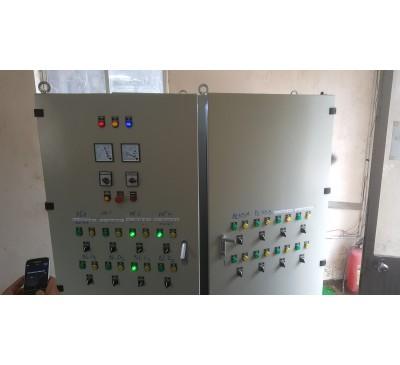Tủ điều khiển bơm xử lý nước thải