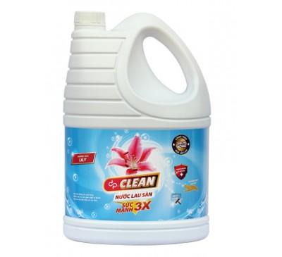 Nước lau sàn dpClean 3,8L - hương Lily