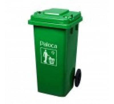Thùng rác nhựa  composite 240L nhập khẩu có bánh xe